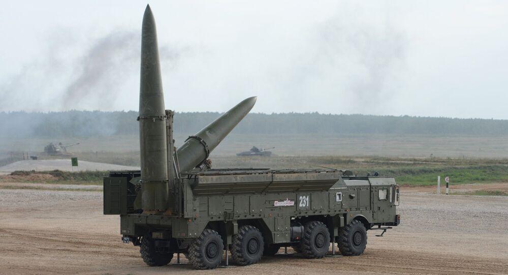 El sistema de misiles tácticos ruso Iskander-M