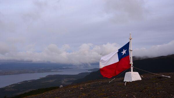 Bandera de Chile (imagen referencial) - Sputnik Mundo