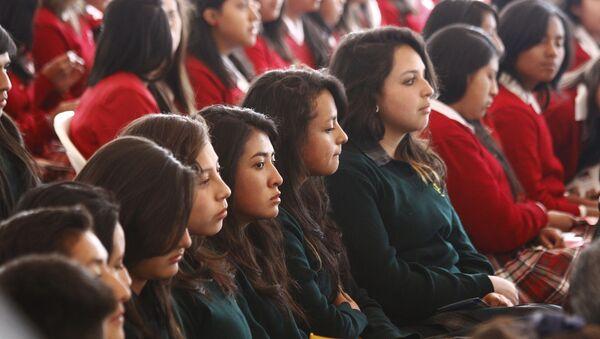 Estudiantes de Bachillerato Internacional en Ecuador - Sputnik Mundo