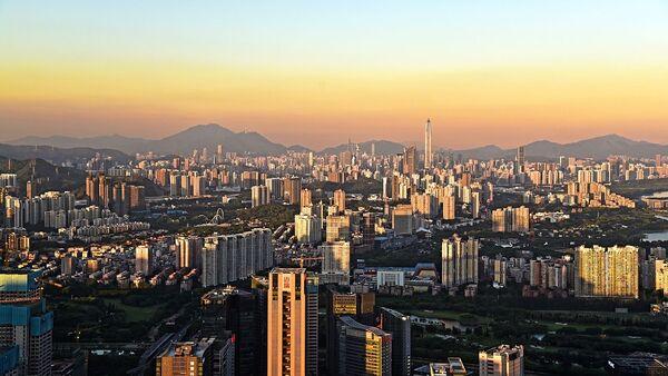 Shenzhen, un importante centro tecnológico de China (imagen referencial) - Sputnik Mundo