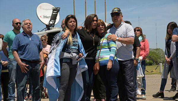 Familiares de los tripulantes del submarino ARA San Juan - Sputnik Mundo