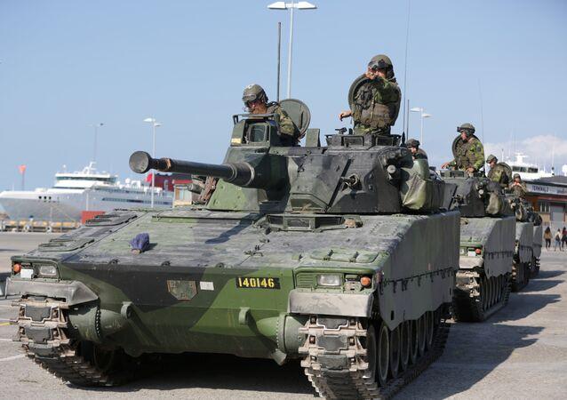 Militares suecos