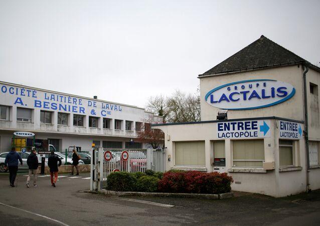 La oficina de Lactalis en Francia (archivo)