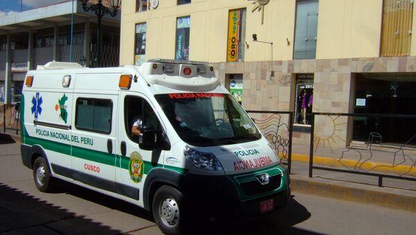 Ambulancia de Perú (archivo) - Sputnik Mundo