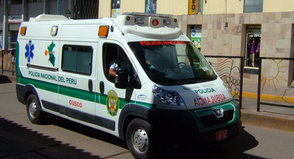 Ambulancia de Perú (archivo)