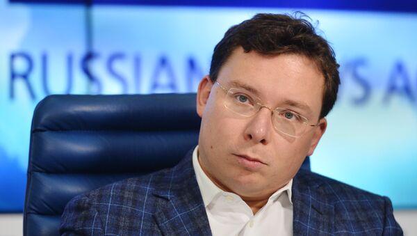 Oleg Bondarenko, periodista y politólogo ruso - Sputnik Mundo