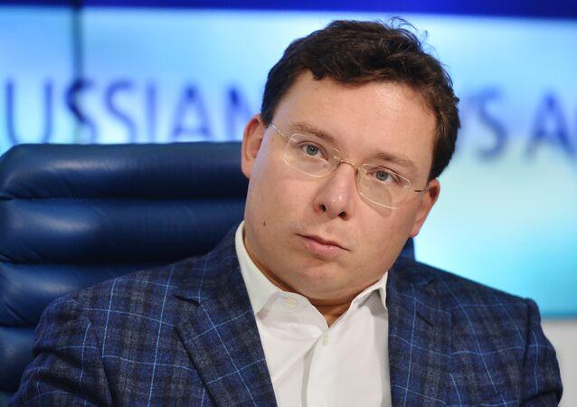 Oleg Bondarenko, periodista y politólogo ruso