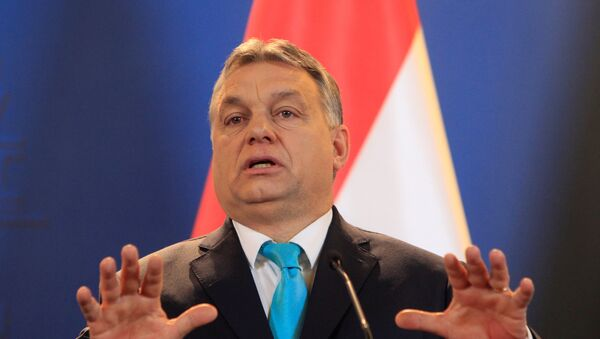 Víktor Orban, primer ministro de Hungría - Sputnik Mundo