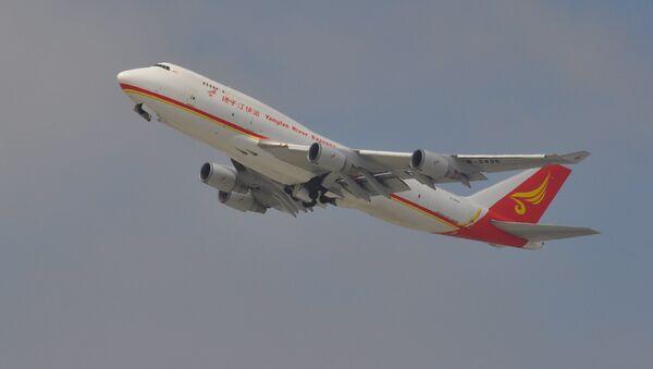 Un Boeing-747 (imagen referencial) - Sputnik Mundo