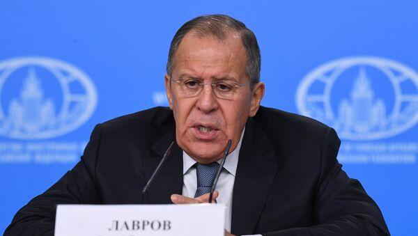 Serguéi Lavrov, el ministro de Asuntos Exteriores ruso - Sputnik Mundo