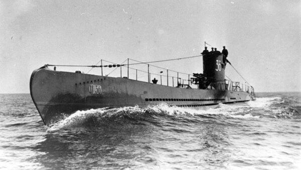 Submarino U-36, de clase VIIA, similar al U-1206 (archivo) - Sputnik Mundo