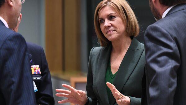 María Dolores de Cospedal, la ministra de Defensa de España (archivo) - Sputnik Mundo