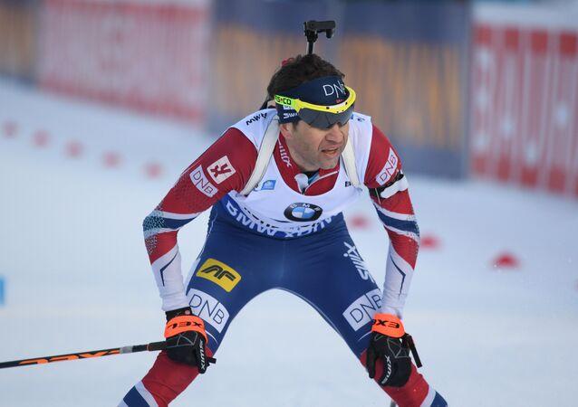 El biatleta noruego Ole Einar Bjorndalen