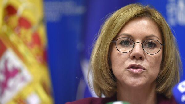 María Dolores de Cospedal, ministra de Defensa de España - Sputnik Mundo