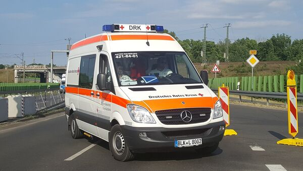 Ambulancia (imagen referencial) - Sputnik Mundo