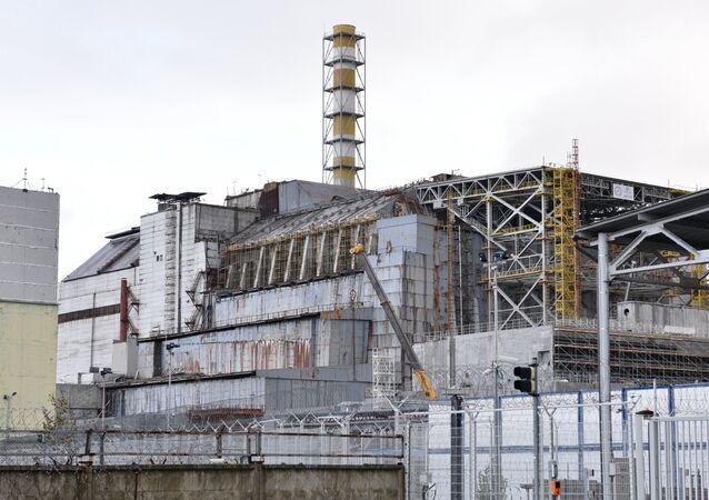 Central nuclear de Chernóbil (archivo)
