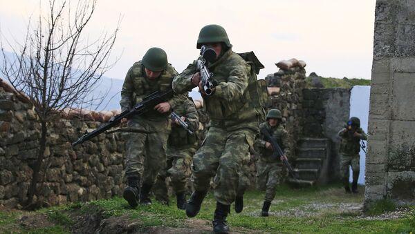Los soldados turcos - Sputnik Mundo