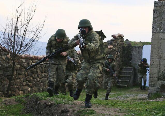 Los soldados turcos