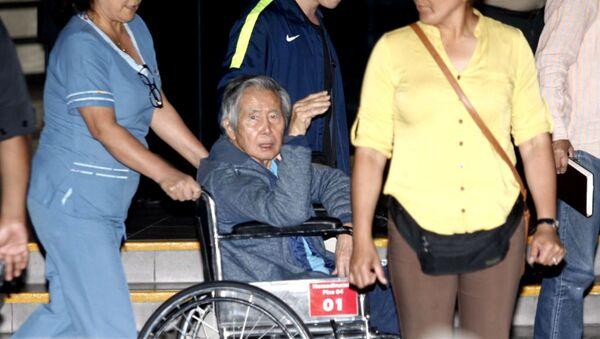 El expresidente peruano Alberto Fujimori - Sputnik Mundo