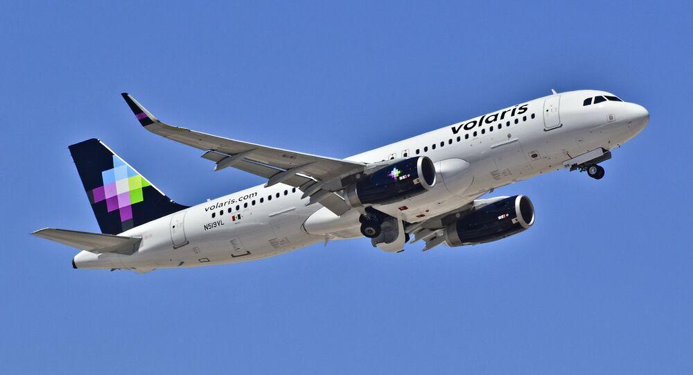 Airbus 320-233 de la compañía mexicana Volaris