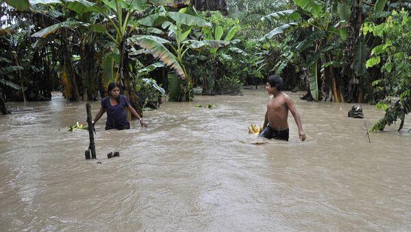 Inundación en Bolivia (archivo) - Sputnik Mundo