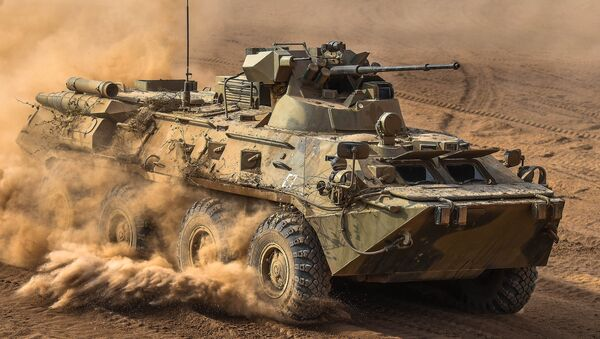 Vehículo blindado BTR-82 - Sputnik Mundo