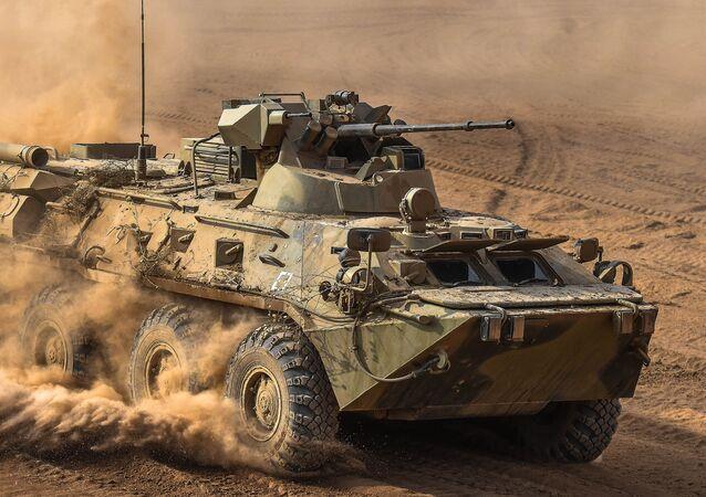 Vehículo blindado BTR-82