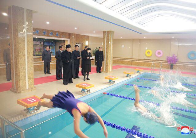 Así ha sido la visita de Kim Jong-un al Instituto de Pedagogía de Pyongyang