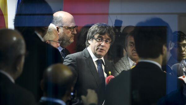 Carles Puigdemont, el presidente del Gobierno catalán cesado - Sputnik Mundo