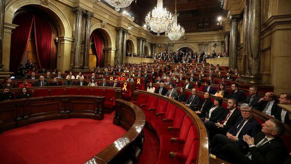 La sesión constitutiva del Parlamento catalán - Sputnik Mundo
