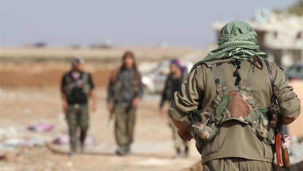 Los kurdos en Siria (archivo) - Sputnik Mundo