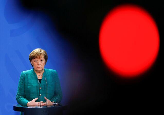Angela Merkel, la canciller federal de Alemania