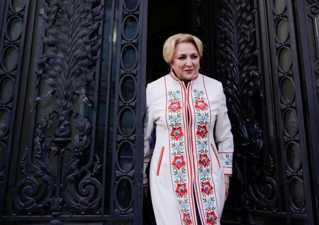 Viorica Dancila, primer ministra de Rumanía
