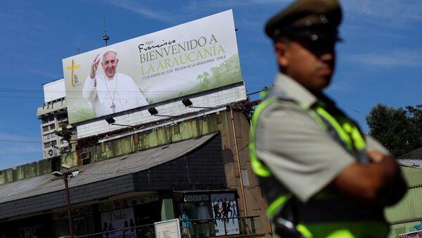 La Araucanía (centro sur de Chile) ante la llegada del papa Francisco - Sputnik Mundo