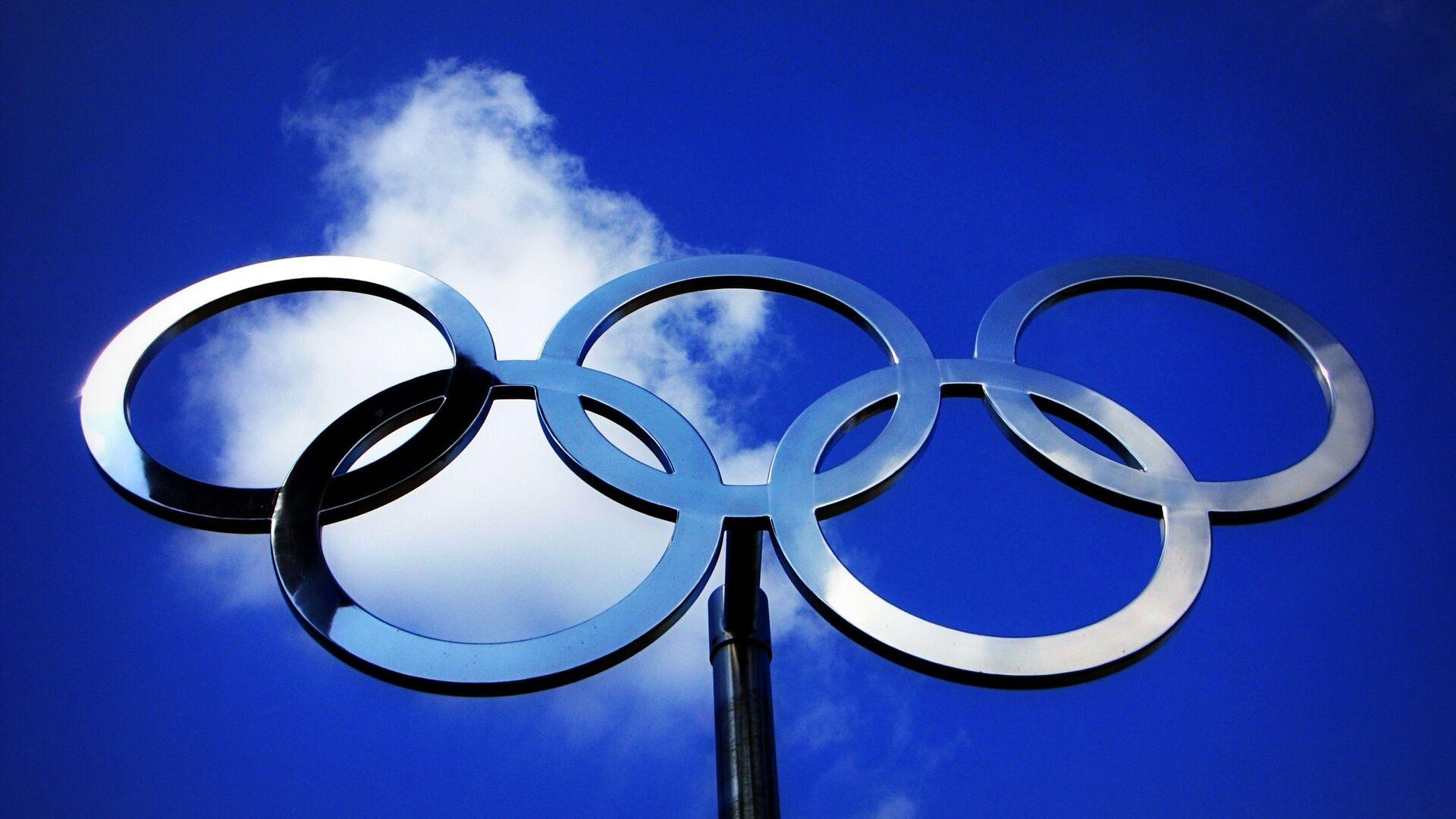 Anillos olímpicos (imagen referencial) - Sputnik Mundo, 1920, 15.04.2021