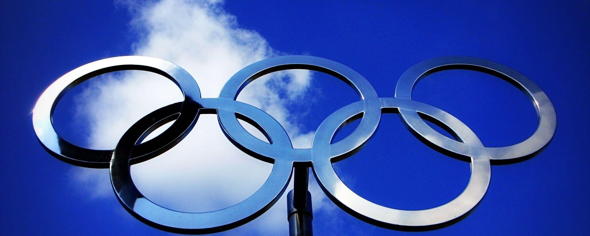Anillos olímpicos (imagen referencial) - Sputnik Mundo, 1920, 27.01.2021