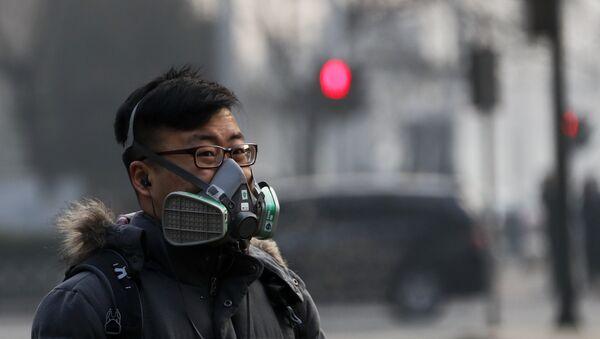 Contaminación atmosférica en China (archivo) - Sputnik Mundo
