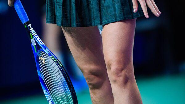 Las piernas de una tenista (imagen referencial) - Sputnik Mundo