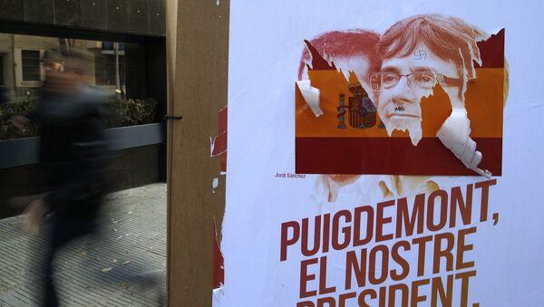 Campaña electoral de Carles Puigdemont - Sputnik Mundo