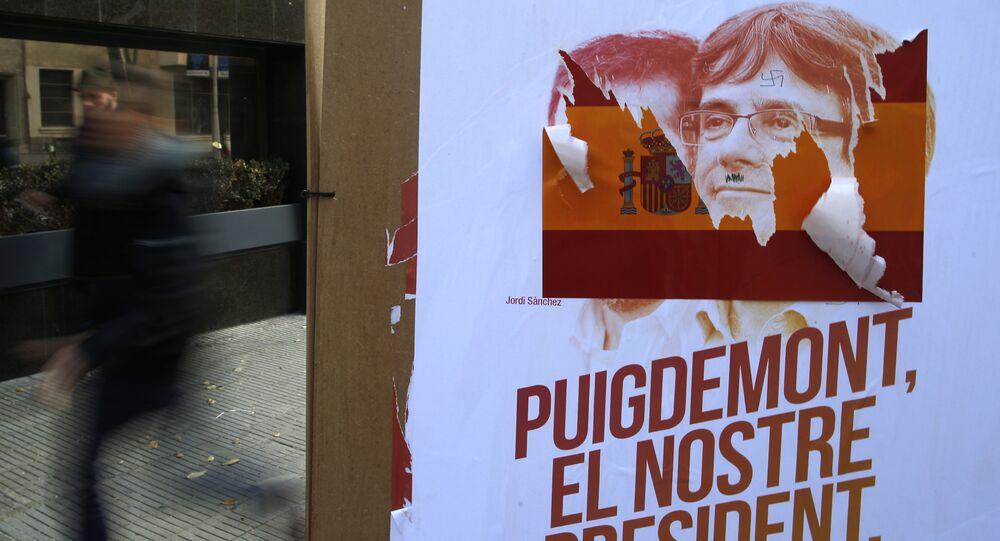 Campaña electoral de Carles Puigdemont