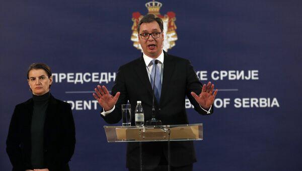 Aleksandar Vucic, el presidente de Serbia - Sputnik Mundo