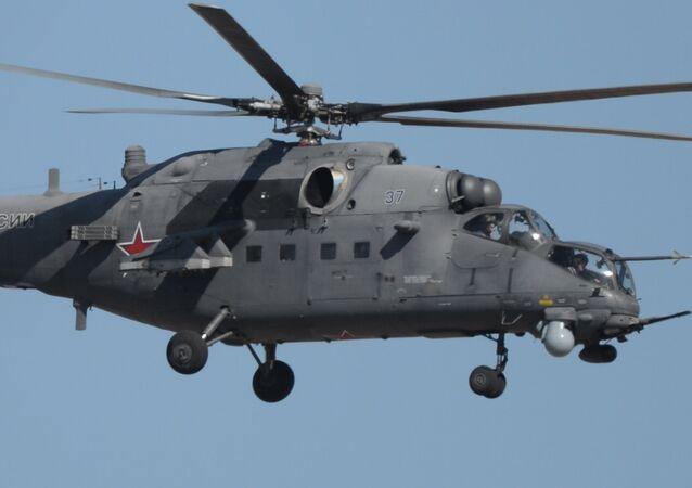 Mi-35, helicóptero ruso