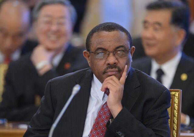 Hailemariam Desalegn, el primer ministro de Etiopía