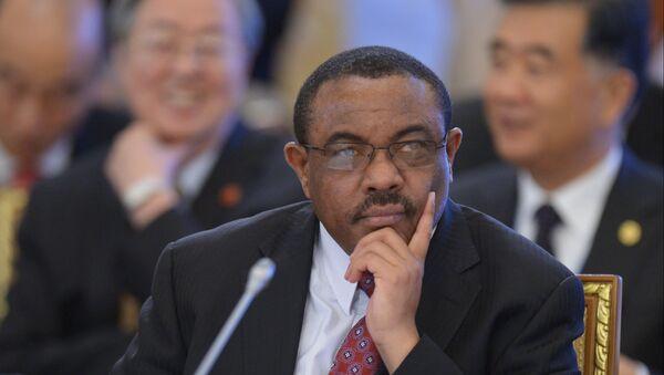 Hailemariam Desalegn, el primer ministro de Etiopía - Sputnik Mundo
