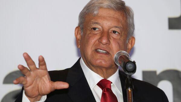Andrés Manuel López Obrador, aspirante a la presidencia de México - Sputnik Mundo