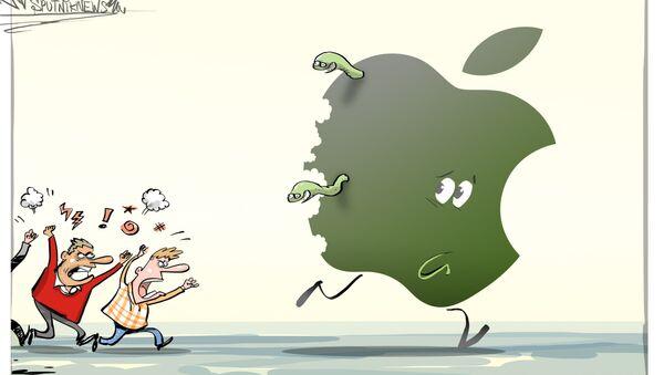 A Apple se la comen viva - Sputnik Mundo
