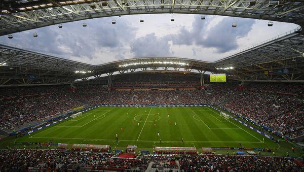 El estadio Kazán Arena en Rusia - Sputnik Mundo