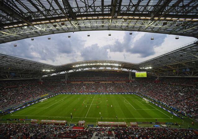 El estadio Kazán Arena en Rusia