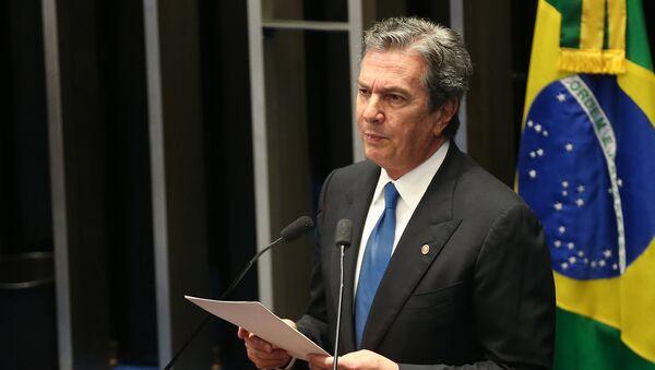 Fernando Collor de Mello, expresidente brasileño - Sputnik Mundo