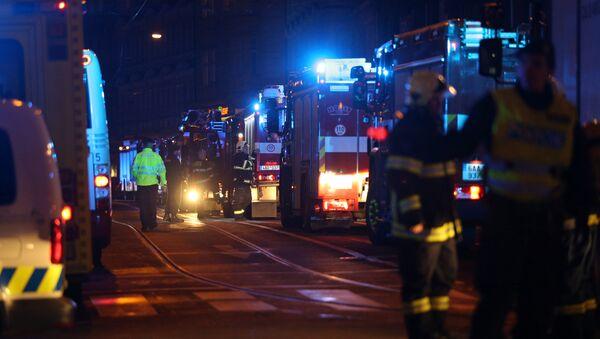 Incendio en Praga - Sputnik Mundo